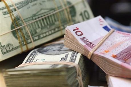 Курс евро на 29.12 2012